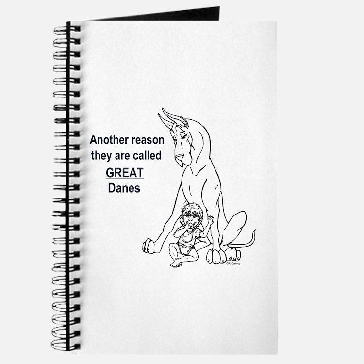Great Dane w/ Baby Reason Journal