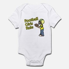 Football Girls Rule Infant Bodysuit