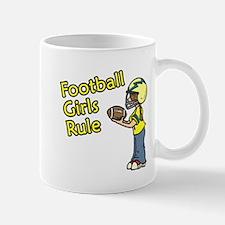 Football Girls Rule Mug