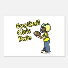 Football Girls Rule Postcards (Package of 8)