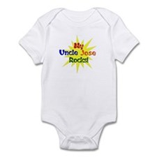 MY UNCLE JOSE ROCKS Infant Bodysuit