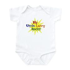 MY UNCLE LARRY ROCKS Infant Bodysuit