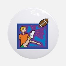 Female Punter Ornament (Round)