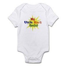 MY UNCLE MARK ROCKS Infant Bodysuit