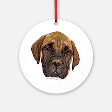 Bullmastiff Puppy Keepsake (Round)