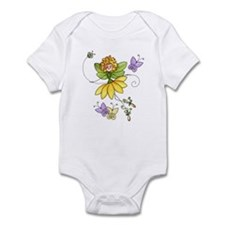 Stick Daisy Fairy Infant Bodysuit