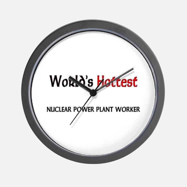 World's Hottest Nuclear Power Plant Worker Wall Cl