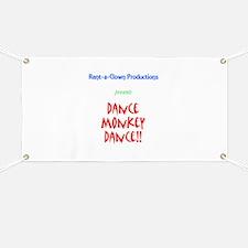 Dance Monkey Dance Banner
