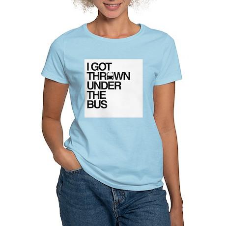 """""""Thrown Under the Bus"""" Women's Light T-Shirt"""