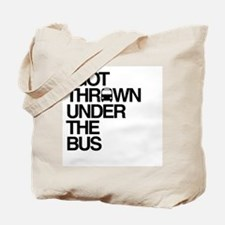 """""""Thrown Under the Bus"""" Tote Bag"""