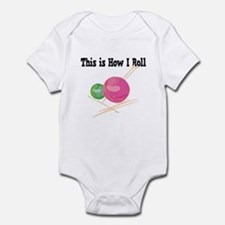 How I Roll (Yarn) Infant Bodysuit