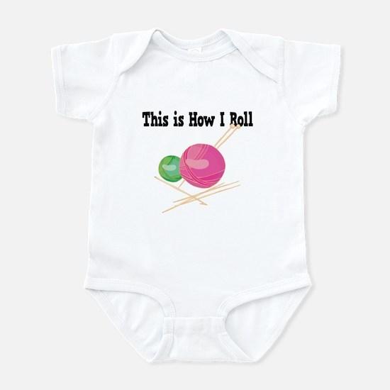 How I Roll (Yarn) Infant Bodysuit