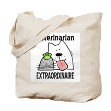 Veterinarian Extraordinaire Tote Bag
