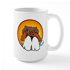 Raging Beaver Color Face Logo Mug