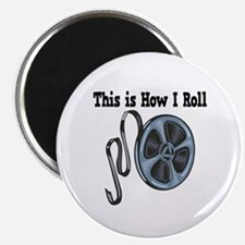 "How I Roll (Movie Film) 2.25"" Magnet (10 pack)"