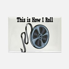 How I Roll (Movie Film) Rectangle Magnet
