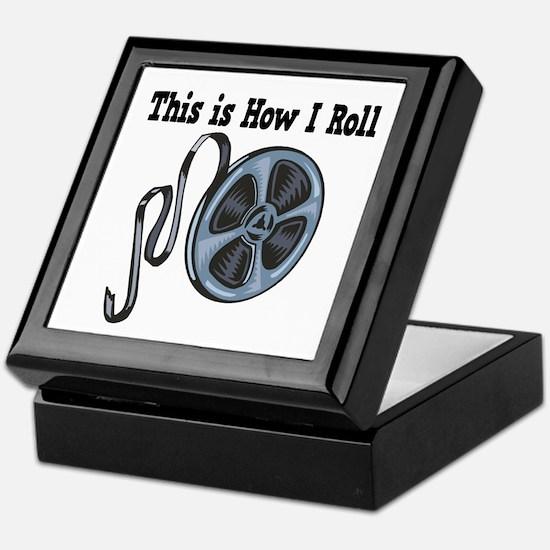 How I Roll (Movie Film) Keepsake Box