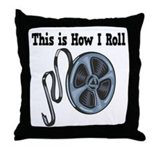 How I Roll (Movie Film) Throw Pillow