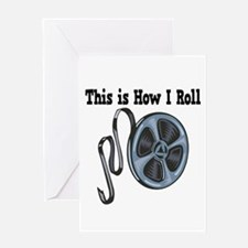How I Roll (Movie Film) Greeting Card