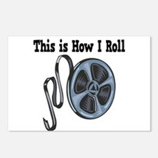 How I Roll (Movie Film) Postcards (Package of 8)