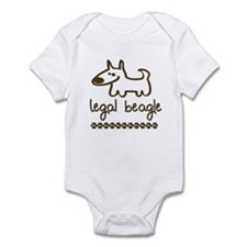 Legal Beagle Infant Bodysuit