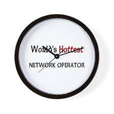 World's Hottest Network Operator Wall Clock