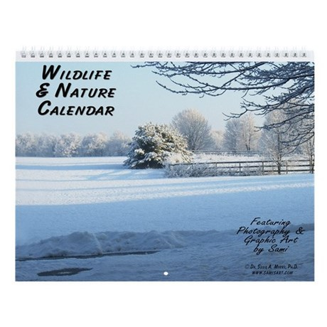 Wildlife & Nature by Sami Wall Calendar