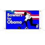 Bowlers for Barack Obama Banner