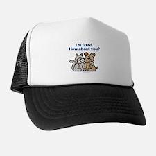 I'm Fixed Trucker Hat