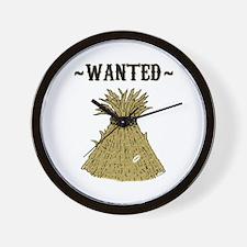 Needle in Haystack Wall Clock