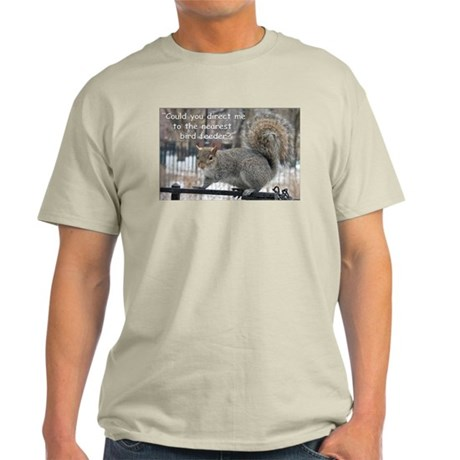 Squirrel Bird two Light T-Shirt