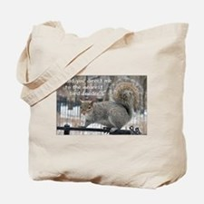 Squirrel Bird two Tote Bag