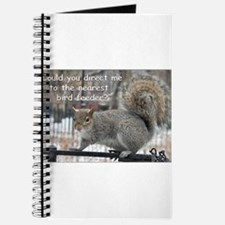 Squirrel Bird two Journal
