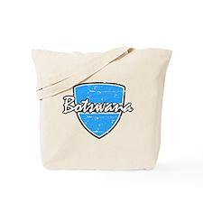 Distressed Botswanan Flag Tote Bag