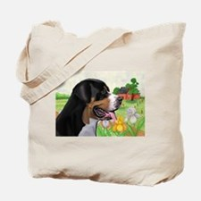 Swissie portrait Tote Bag