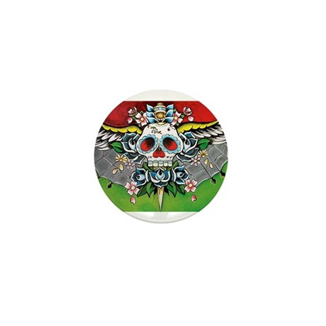 Day of the Dead Mini Button (10 pack)