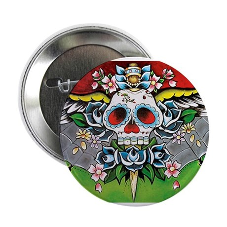 """Day of the Dead 2.25"""" Button (10 pack)"""