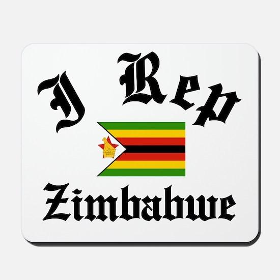 I rep Zimbabwe Mousepad