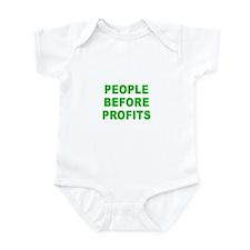 PEOPLE B4 PROFITS Infant Bodysuit