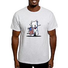 2008 JULY 4th Westie T-Shirt