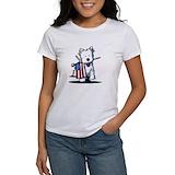 Patriotic westie Women's T-Shirt