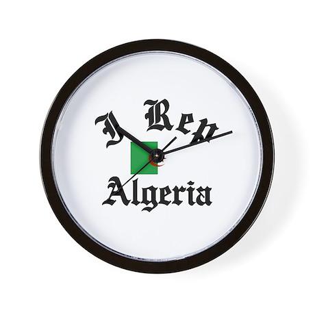 I rep Algeria Wall Clock