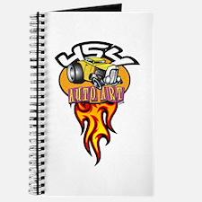 454 Auto Art Flames Journal