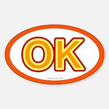 OK - Oklahoma Oval Decal