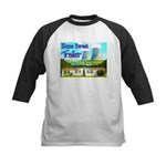 Home Sweet Trailer Kids Baseball Jersey