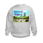Home Sweet Trailer Kids Sweatshirt