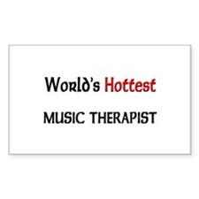 World's Hottest Music Therapist Decal