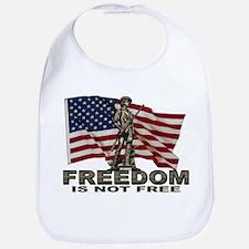 FREEDOM NOT FREE Bib