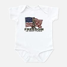 FREEDOM NOT FREE Infant Bodysuit
