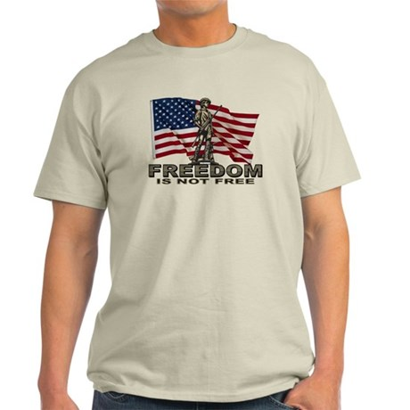 FREEDOM NOT FREE Light T-Shirt